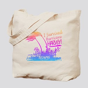 I Survived Hurricane Harvey Tote Bag