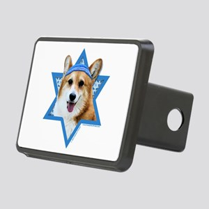 Hanukkah Star of David - Corgi Rectangular Hitch C