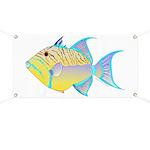 Queen Triggerfish Banner