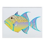 Reef Fish 6 Wall Calendar