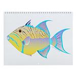Reef Fish 6 Wall Calendar