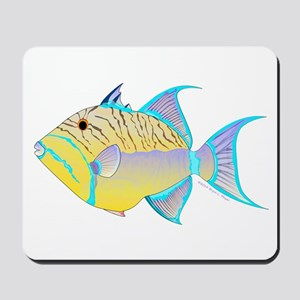 Queen Triggerfish Mousepad