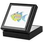 Queen Triggerfish Keepsake Box
