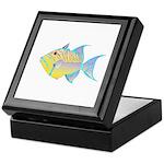 Queen Triggerfish Keepsake Box