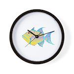 Queen Triggerfish Wall Clock