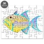 Queen Triggerfish Puzzle