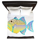 Queen Triggerfish King Duvet