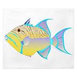 Queen Triggerfish King Duvet