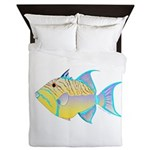 Queen Triggerfish Queen Duvet