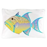 Queen Triggerfish Pillow Case
