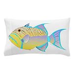 Queen Triggerfish Pillow Case