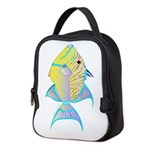 Queen Triggerfish c Neoprene Lunch Bag