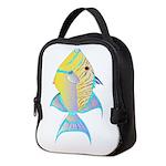 Queen Triggerfish c Neoprene Lunch Bag