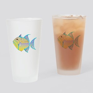 Queen Triggerfish c Drinking Glass