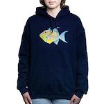 Queen Triggerfish c Hooded Sweatshirt
