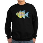 Queen Triggerfish c Sweatshirt