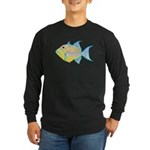 Queen Triggerfish c Long Sleeve T-Shirt