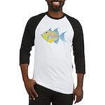Queen Triggerfish c Baseball Jersey