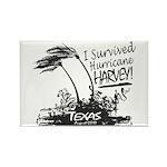 I Survived Hurricane Harvey Magnets