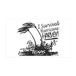 I Survived Hurricane Harvey Wall Decal