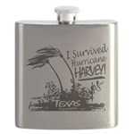 I Survived Hurricane Harvey Flask