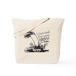 I Survived Hurricane Harvey Tote Bag