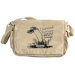I Survived Hurricane Harvey Messenger Bag