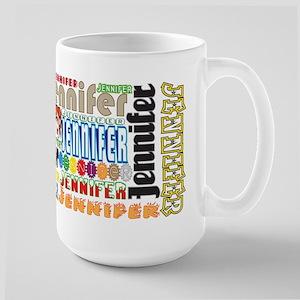 Jennifer 15 Oz Ceramic Large Mug Mugs