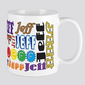 Jeff 11 Oz Ceramic Mug Mugs