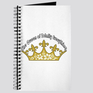 The Queen Of Totally Everything Journal