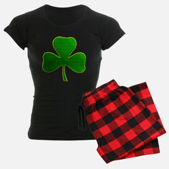 Lucky Irish Shamrock Pajamas