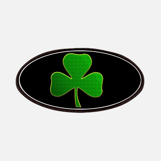 Lucky Irish Shamrock Patches