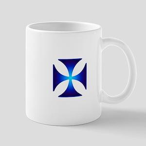 Glowing symbol Cross Pattee (Christianity) Mugs