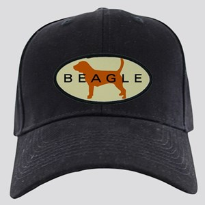 Beagle Dog Black Cap