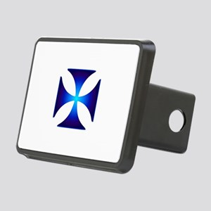 Glowing symbol Cross Patte Rectangular Hitch Cover
