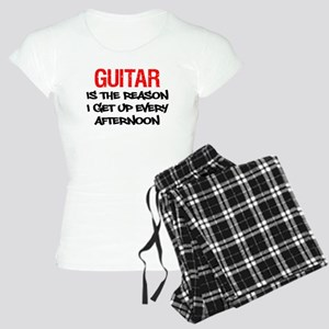 Guitar Get Up Afternoon Pajamas