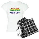 You Are Fucking Awesome Women's Light Pajamas