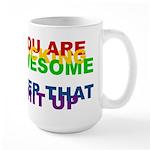 You Are Fucking Awesome Large Mug