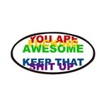 You Are Fucking Awesome Patches
