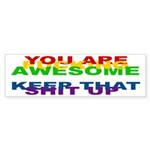 You Are Fucking Awesome Sticker (Bumper 10 pk)