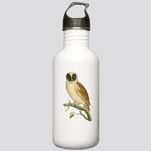 Black Masked Owl Stainless Water Bottle 1.0L
