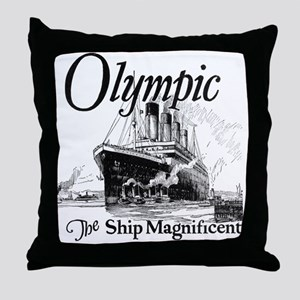 Titanic Honour and Glory Throw Pillow