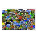 Mental landscape Postcards (Package of 8)