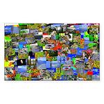 Mental landscape Sticker