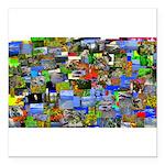 Mental landscape Square Car Magnet 3