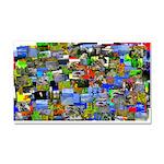 Mental landscape Car Magnet 20 x 12