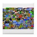 Mental landscape Tile Coaster