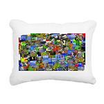 Mental landscape Rectangular Canvas Pillow