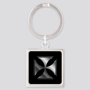 Cross Pattee symbol (Christianity) Keychains