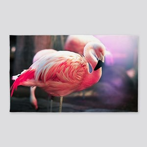 Beautiful Flamingo 3'X5' Area Rug